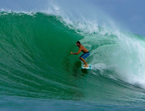 Surfing in Madagascar