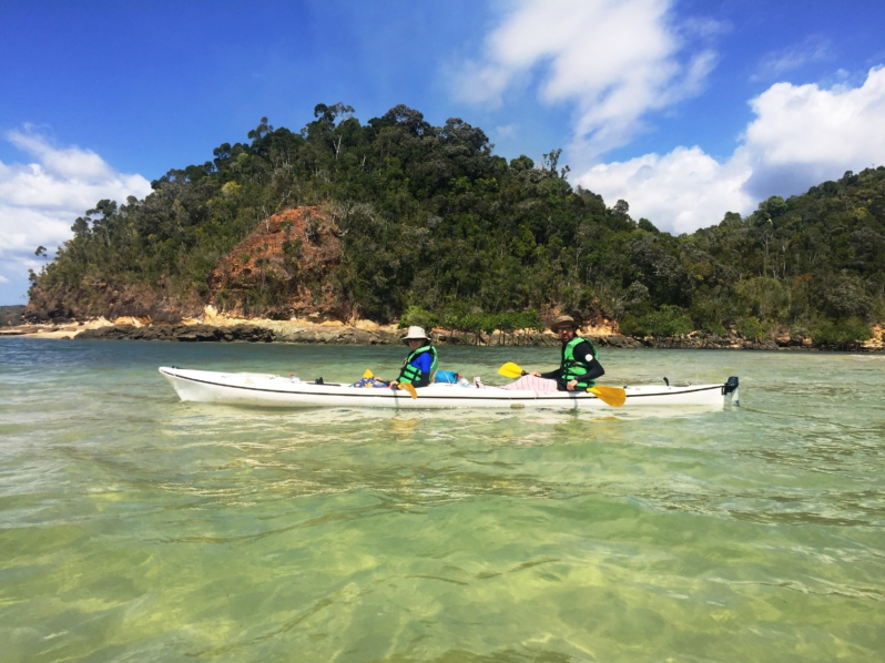 Sea Kayaking in Madagascar